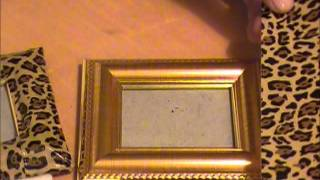 DIY Project: Duck Tape Picture Frames Video