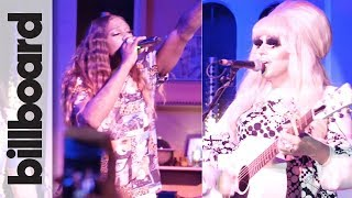 Big Freedia, Trixie Mattel & Daya Perform at Pride Summit Afterparty | Billboard & THR Pride Summit