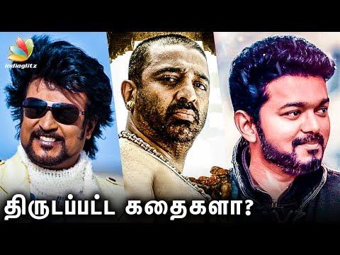 Controversial Stories in Recent Times | Vijay's Sarkar, Rajinikanth | Kamal Haasan