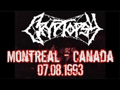 Cryptopsy LIVE - Montreal, QC - Canada - 08.07.1993 - Dani Zed