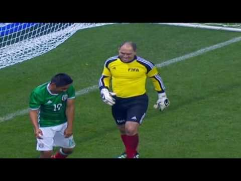 MEXICO ALL STARS VS SOCCER LEGENDS (12.05.2016) All Goals & highlights HD