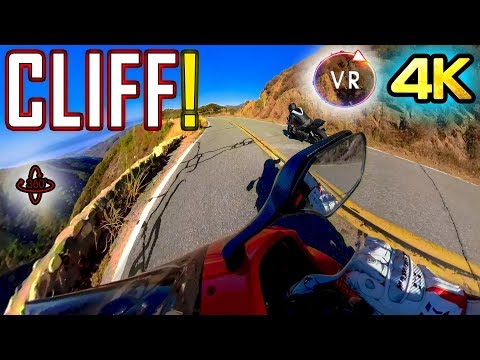 TOP OF THE WORLD! RACING ON A RIDGE! 360 VR 4K HUD