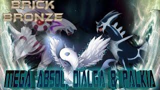 Roblox: Pokemon Brick Bronze - MEGA Absol, Dialga - Palkia - Eclipse Boss Fight!