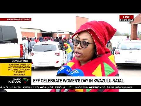 EFF observes Women's Day in Pietermaritzburg, KZN