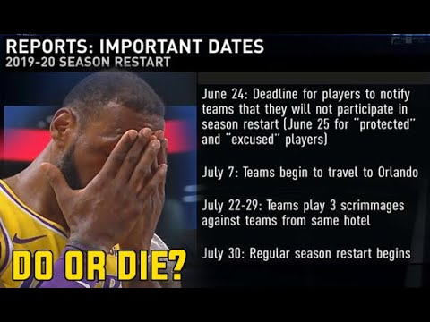 Bubble burst too soon for the NBA?