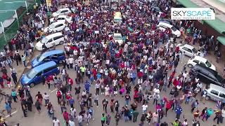 Zimbabwe Solidarity March - 18 Nov 2017 - New & Exclusive Drone Footage