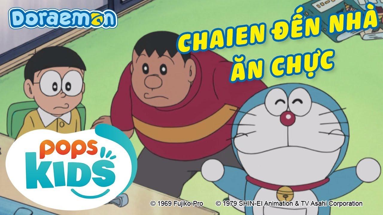 [S7] Doraemon Tập 326 – Chaien Đến Nhà Ăn Chực, Búi Tóc Kết Giao Bạn Bè – Hoạt Hình Tiếng Việt