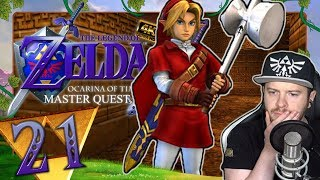 Troll-Rätsel verbrennen mich 🗡️ THE LEGEND OF ZELDA OCARINA OF TIME 3D MASTER QUEST #21