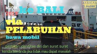 Kondisi arus balik 2019  Pelabuhan Ketapang - Gilimanuk, ketemu team TIMOR-ER #KeBali