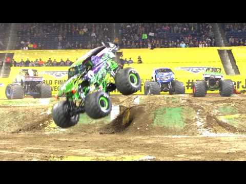 Monster Jam El Paso Highlights - Stadium Tour 4 - March 5-6, 2017