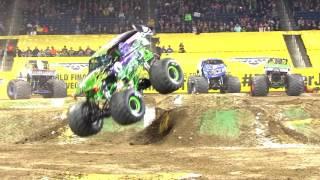 Monster Jam El Paso Highlights   Stadium Tour 4   March 5 6, 2017