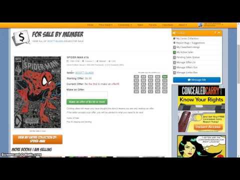 Introduction to ComicsPriceGuide.com