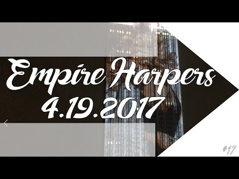 Thumbnail: Empire State Building Celebrating 150 Years of Harper's Bazaar