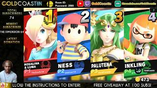 Super Smash Bros. Ultimate Stream!  //  Streaming with GoldCoastin!