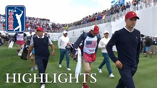 Spieth Reed extended highlights  Day 3  Presidents Cup