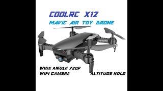 CoolRC X12 MAVIC AIR TOY GRADE 720P WIFI DRONE