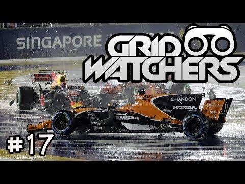 HUGE CRASH IN SINGAPORE! - GRID WATCHERS PODCAST #17