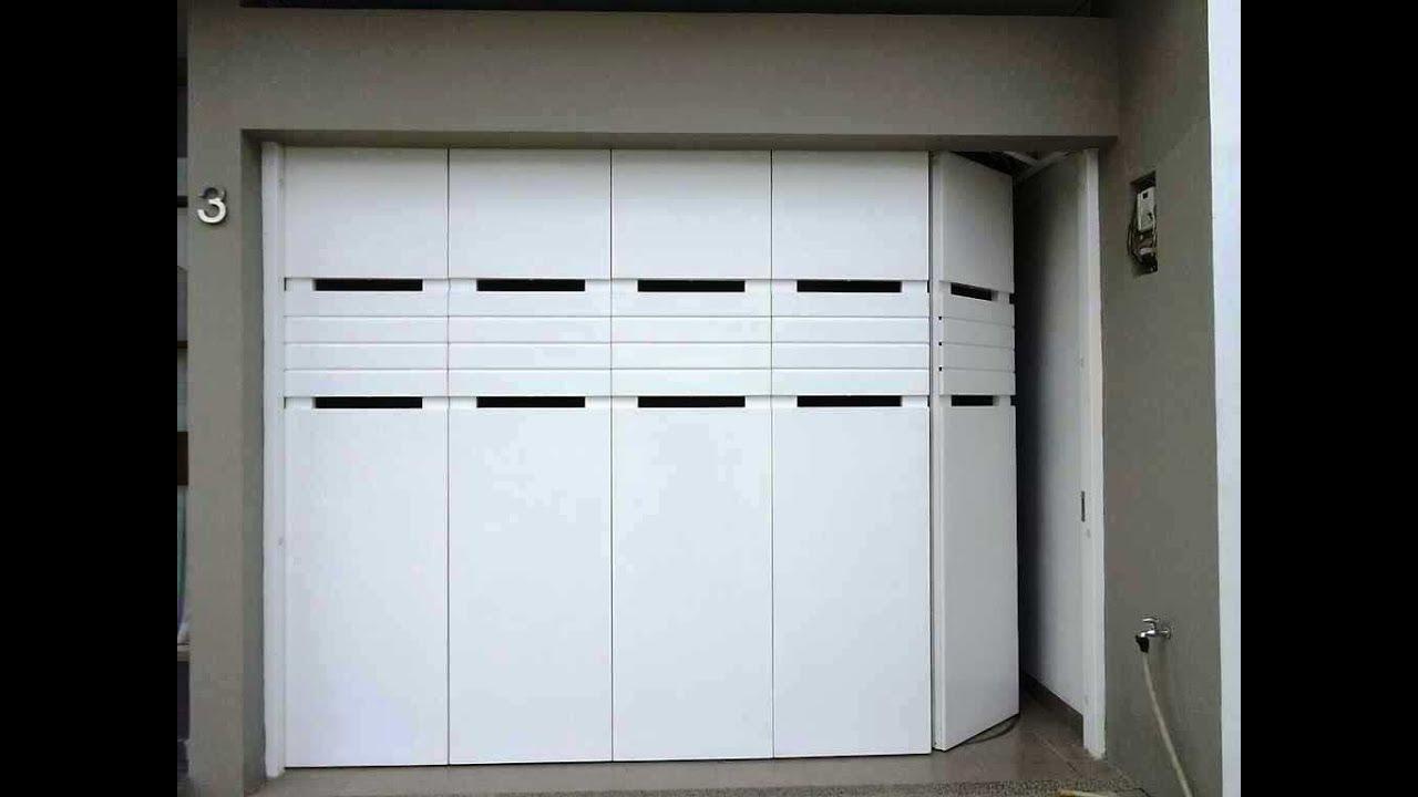 Desain Pintu Garasi Mobil Rumah Minimalis  YouTube