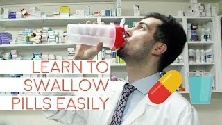 How To Swallow Tablets Easily | Best Easy Way Technique To Swallow Capsules | Difficulty Swallowing