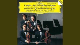 """Beethoven: String Quartet No.11 In F Minor, Op.95 - """"Serioso"""" - 1. Allegro con brio (1987..."""