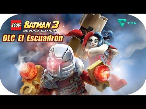 LEGO Batman 3 - DLC El Escuadrón - Gameplay Español - 1080p HD