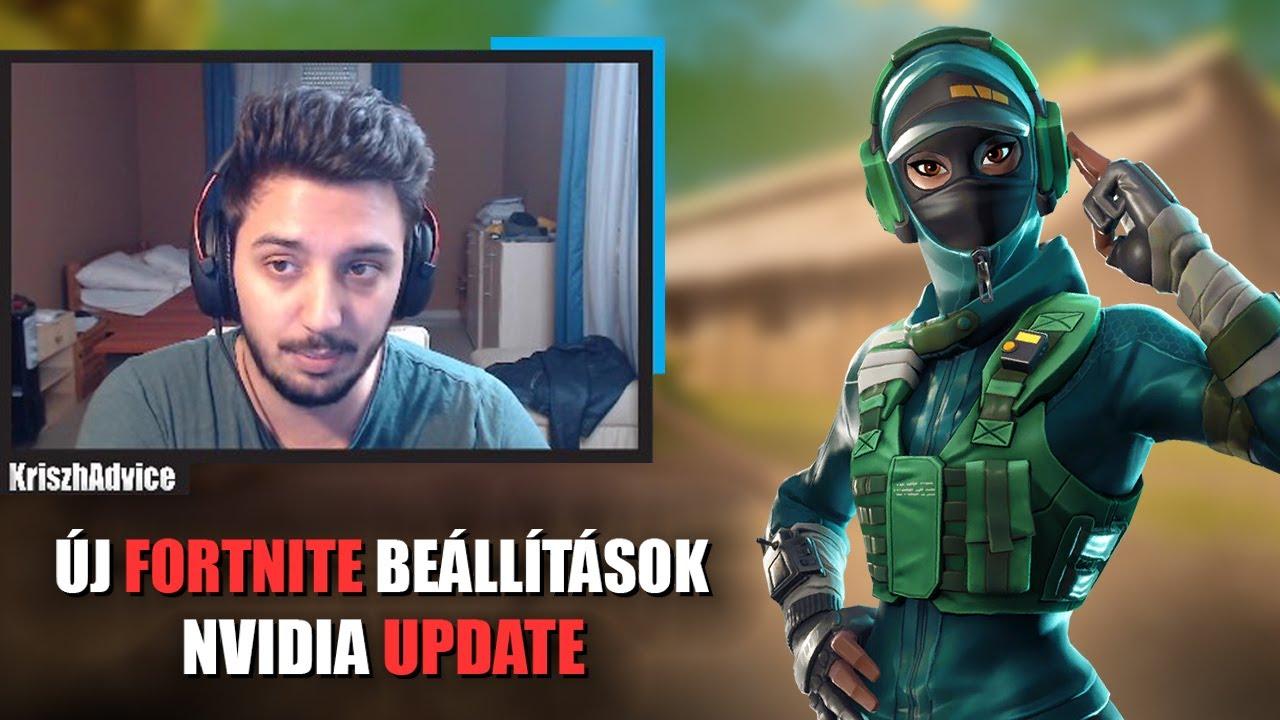 ÚJ FORTNITE BEÁLLÍTÁSOK! | NVIDIA REFLEX (Fortnite Battle Royale)