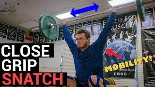 Improve Shoulder Mobility and Stability with Close Grip Snatch | Movement Library