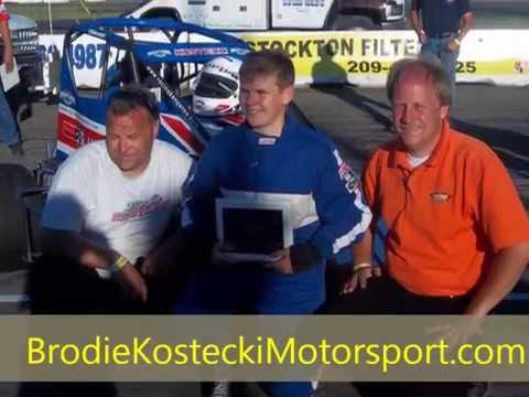 Brodie Kostecki-Arcoplate #40 Stockton 99 Speedway