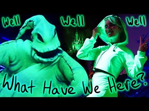 I Got A Head-To-Toe Blacklight Makeover/THE ULTIMATE OOGIE BOOGIE DISNEYBOUND thumbnail