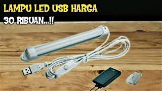LAMPU LED USB HARGA PELAJAR UNTUK LIGHTING TERANG BANGET || REVIEW.