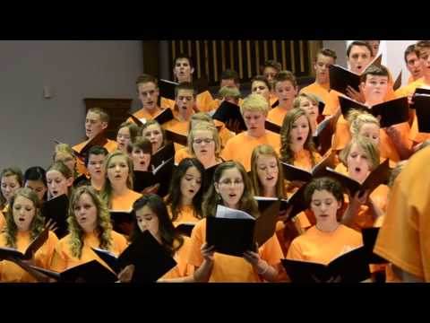 Glorious Is Thy Name - Mozart (All Ontario Choir 2014!)
