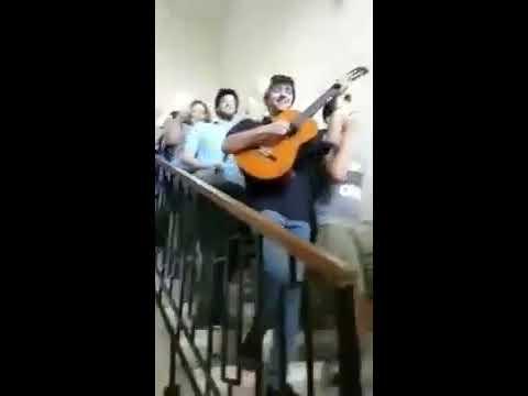 Noi vogliamo il 60, cover di Hallelujah dei maturandi del Liceo Regina Margherita di Palermo
