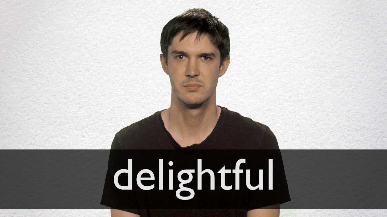 Delightful Definition und Bedeutung   Collins Wörterbuch