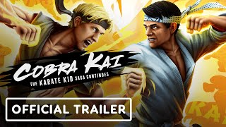 Cobrai Kai Official Game Reveal Trailer Youtube