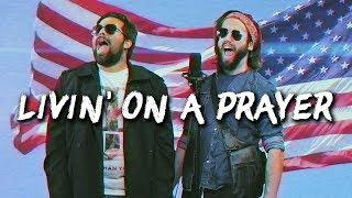 LIVING ON A PRAYER - Bon Jovi - (METAL cover by Jonathan Young & Caleb Hyles)