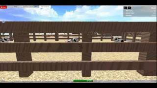 ROBLOX Western town!