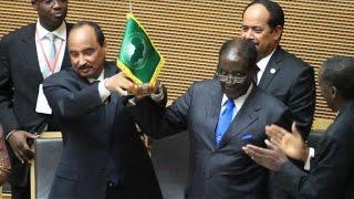 Zimbabwe's Robert Mugabe named new African Union chairman