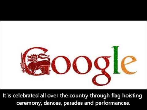 Sri Lanka Independence Day 2013 Google Doodle [HQ]
