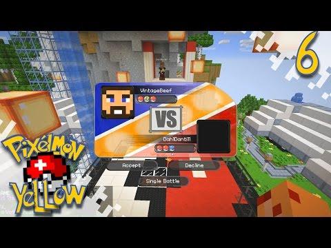 Pixelmon YELLOW!  - Ups And Downs - Ep06 (Minecraft Pokemon Mod)