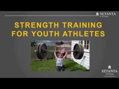 Strength Training for Youth Athletes Part 1- with Paudie Roche