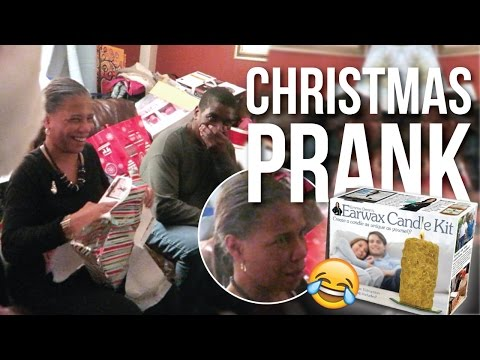 Christmas Gift PRANK on Mom! December 19-25, 2015 | Naptural85 Vlog