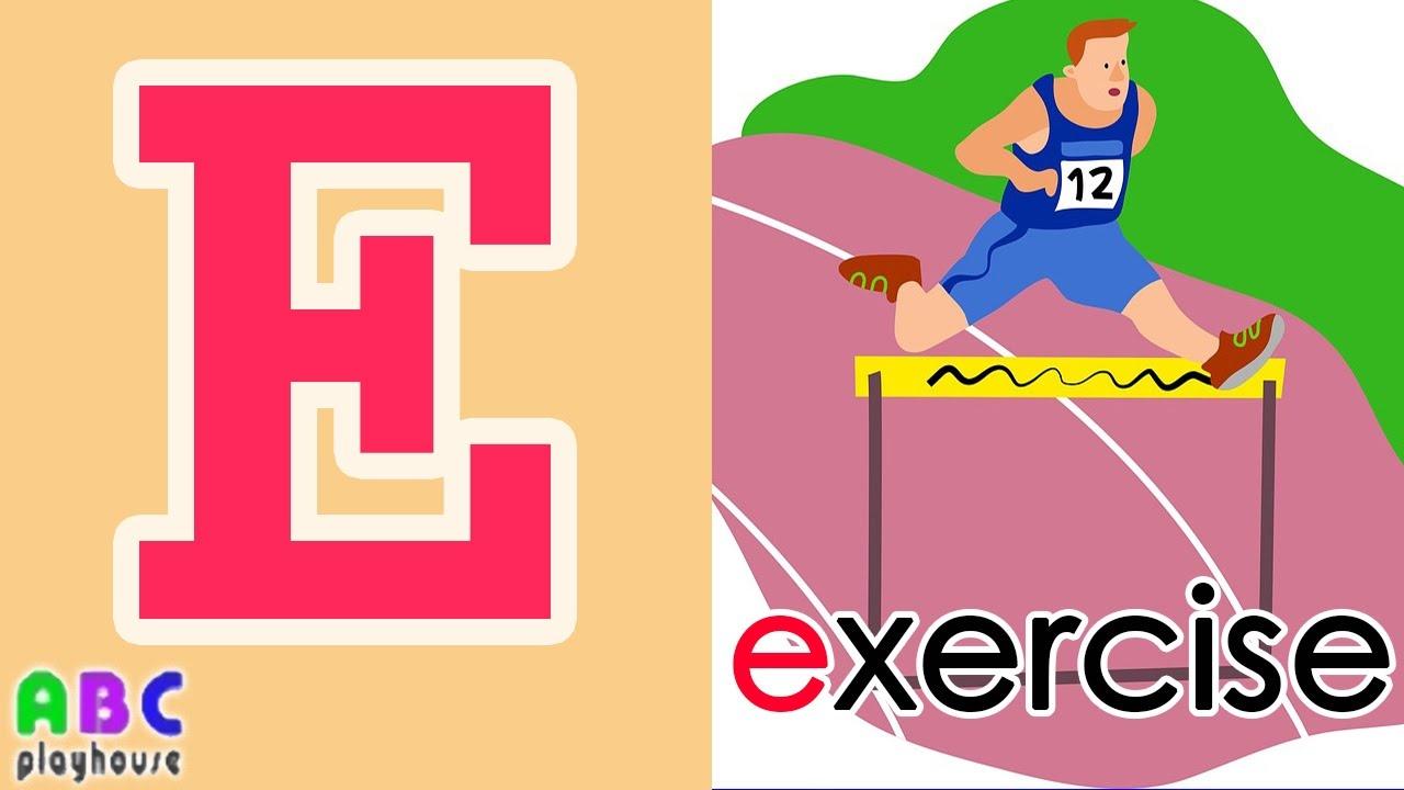 【中英字幕】ABC教學 第12集 Exercise|單字A-Z|YOYO|ABC Playhouse|兒童英文教學Learning English For Kids - YouTube