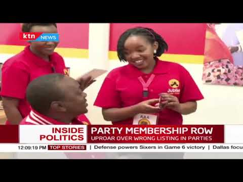 Kenyans raise red flag over wrong listing in political parties | INSIDE POLITICS WITH BEN KITILI