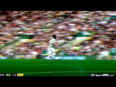 Today on YouTube: One Direction's Louis Tomlinson on the receiving end of a tackle from Gabby Agbonlahor