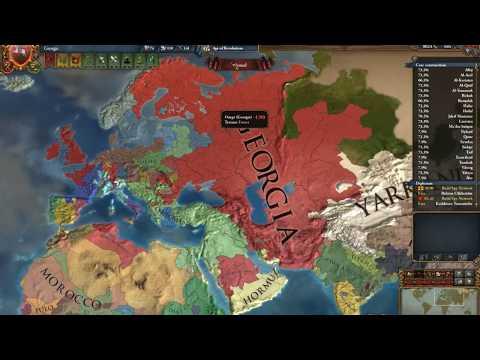 Europa Universalis IV | Georgia Timelapse |