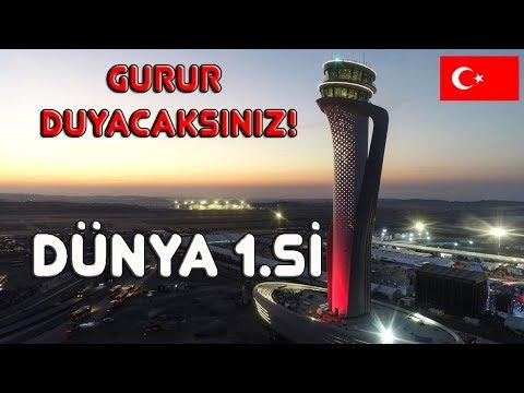 TEK 1 HAVALİMANI, 11 DÜNYA REKORU! - İSTANBUL YENİ  HAVALİMANI