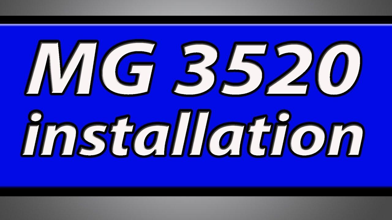 Canon mg3520 manual pdf