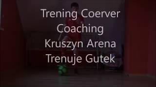Coerver Coaching - Gutek(2006) w Akcji - 23 Ćwiczenia - Indywidualny Trening Kruszyn Arena