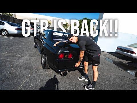 THE SKYLINE GTR IS BACK!