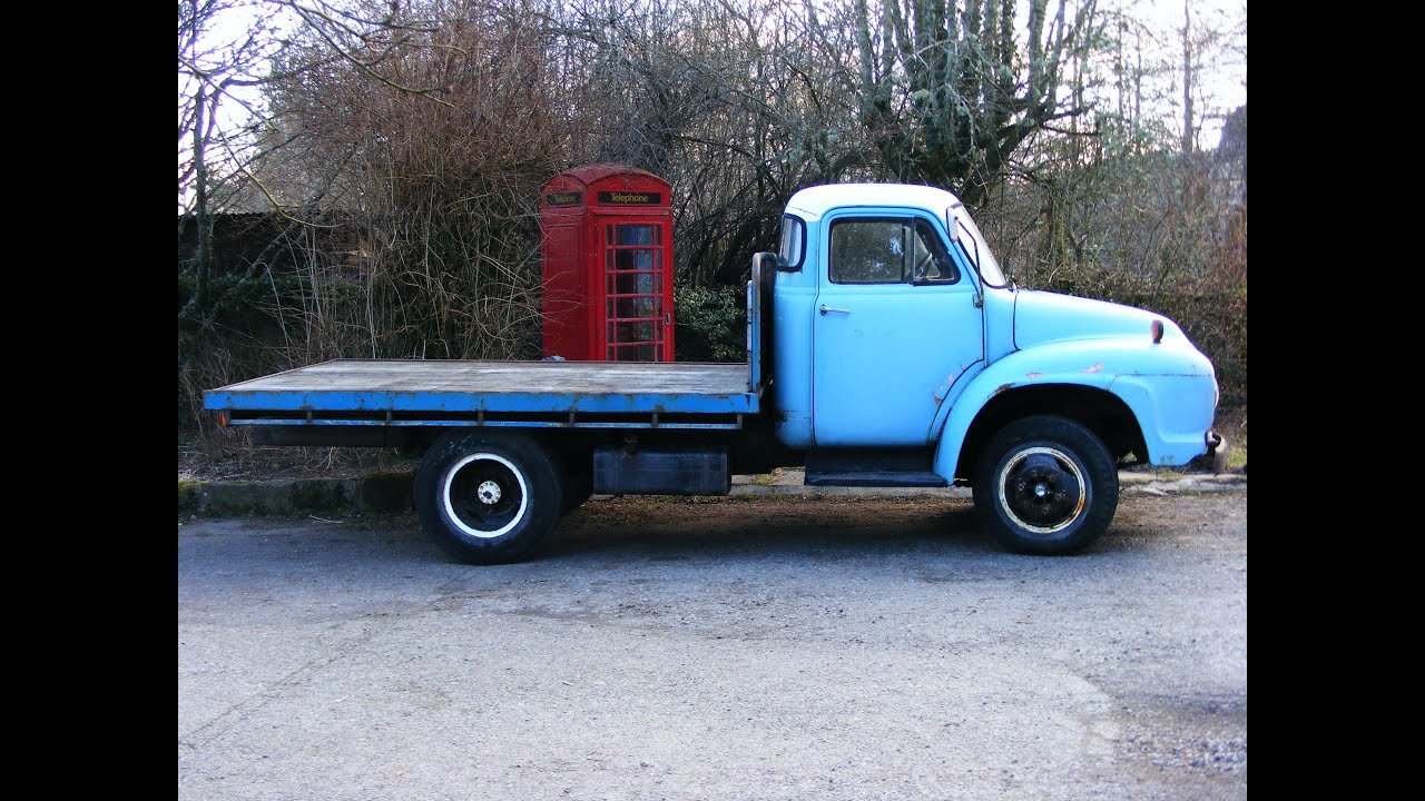 Bedford J Type Vintage Truck For Sale #2 - YouTube